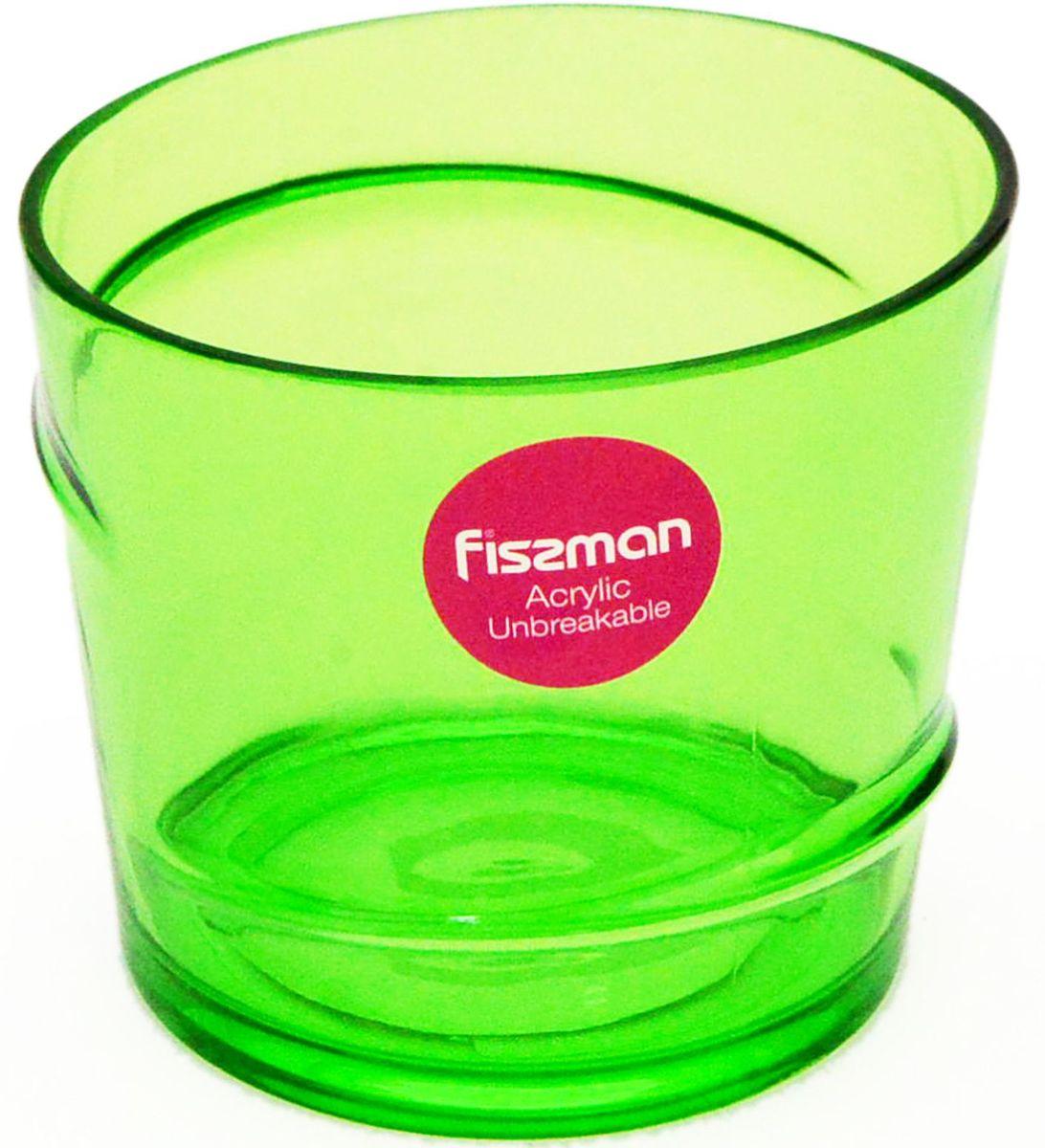 Стакан Fissman, 275 мл. 9427VT-1520(SR)Стакан Fissman изготовлен из акрила. Такойстакан прекрасно подойдетдля различных напитков. Он дополнит коллекцию вашей кухонной посуды и будетслужить долгие годы. Объем: 275 мл.