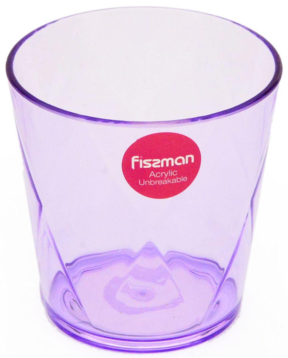 Стакан Fissman, 310 мл. 9429VT-1520(SR)Стакан Fissman оригинального дизайна изготовлен из акрила. Такойстакан прекрасно подойдетдля различных напитков. Он дополнит коллекцию вашей кухонной посуды и будетслужить долгие годы. Объем: 310 мл.