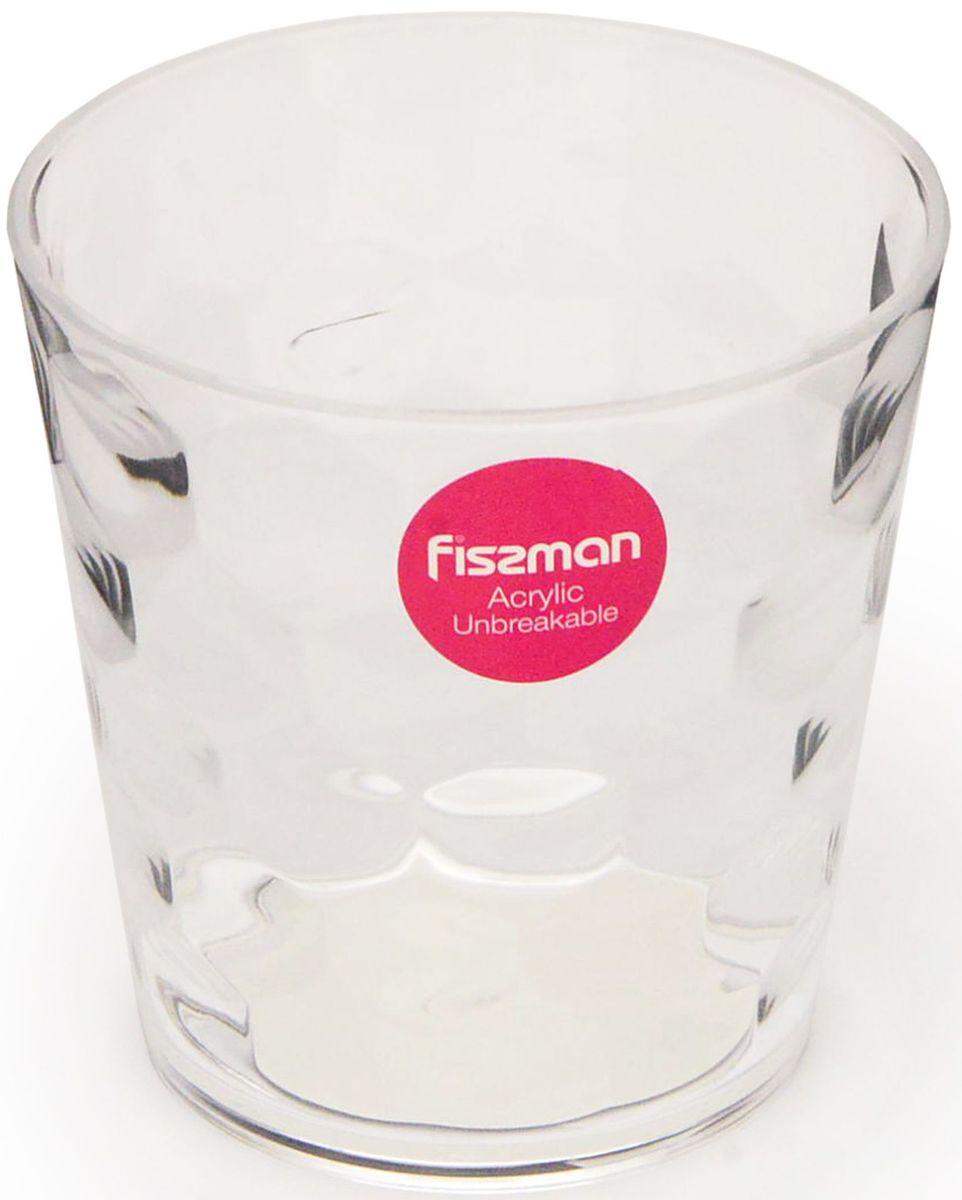 Стакан Fissman, 310 мл. 9433VT-1520(SR)Стакан Fissman оригинального дизайна изготовлен из акрила. Такойстакан прекрасно подойдетдля различных напитков. Он дополнит коллекцию вашей кухонной посуды и будетслужить долгие годы. Объем: 310 мл.
