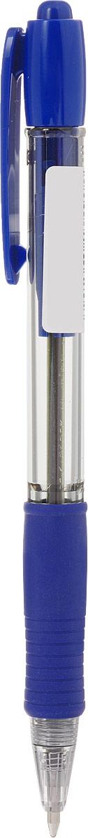 Pilot Ручка шариковая Supergrip цвет чернил синий BPGP-10R-M-L72523WDРучка шариковая Pilot Supergrip оснащена прозрачным пластиковым корпусом с металлическим наконечником и зажимом.Также она обладает контролем уровня чернил и цветным резиновым упором с рифлением под пальцы.Цвет чернил-синий.