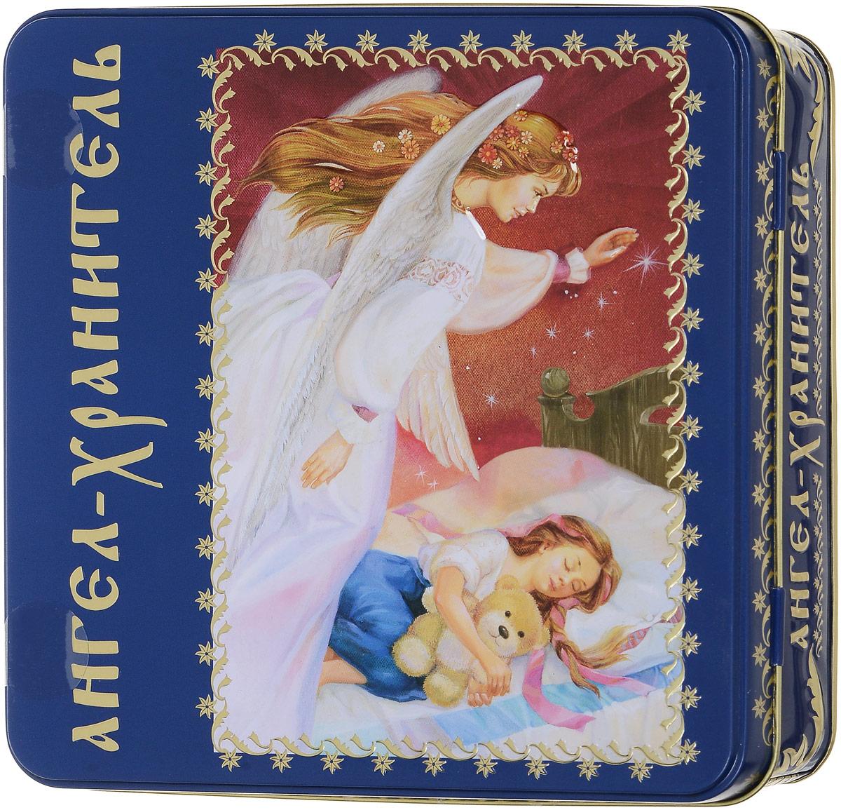 Вера, Надежда, Любовь Ангел-Хранитель подарочный набор черного листового чая, 125 г0120710Ангел-Хранитель - ангел, добрый дух, данный человеку Богом при крещении для помощи и руководства.Ангел-Хранитель невидимо находится при человеке на протяжении всей его жизни, если человек сохраняет в себе любовь к Богу и истинную веру перед Ним. Задача Ангела-Хранителя - способствовать спасению подопечного. Ангелы-Хранители духовно наставляют в вере и благочестии, охраняют души и тела, заступаются за них в течение земной их жизни, молят о них Бога, не оставляют их, наконец, после смерти и отводят души окончивших земную жизнь в вечность.