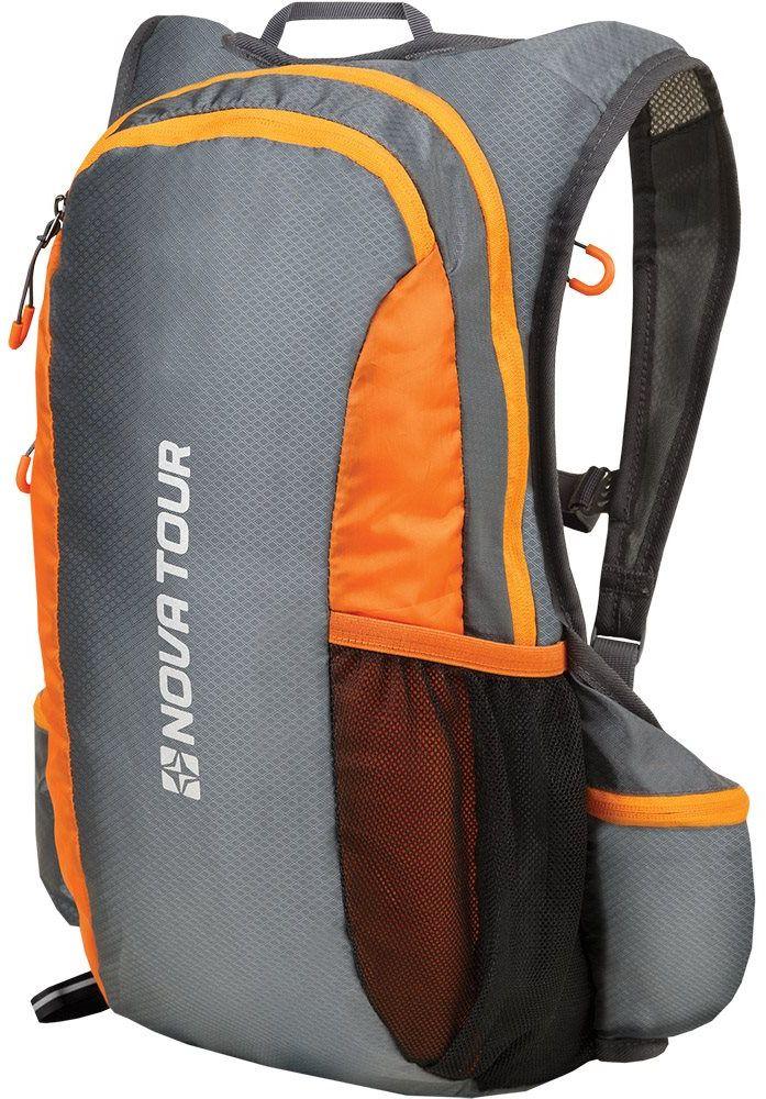 Рюкзак спортивный Nova Tour Фотон, 20 л, цвет: серыйКомфортРюкзак спортивный Nova Tour Фотон - легкий спортивный рюкзак с мягкой спиной, отдельным карманом под гидратор. Подойдет для длительных пробежек, ориентирования и мультигонок.