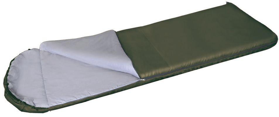 Спальный мешок Greenell Рахан -4, цвет: хаки, правая молнияKOC2028LEDБлагодаря простоте конструкции, спальные мешки легко превращаются в двух спальные одеяла, которые можно использовать не только на природе, но и на даче. Для этой модели предусмотрен подголовник, который с помощью встроенного шнура легко превращаются в теплый капюшон.