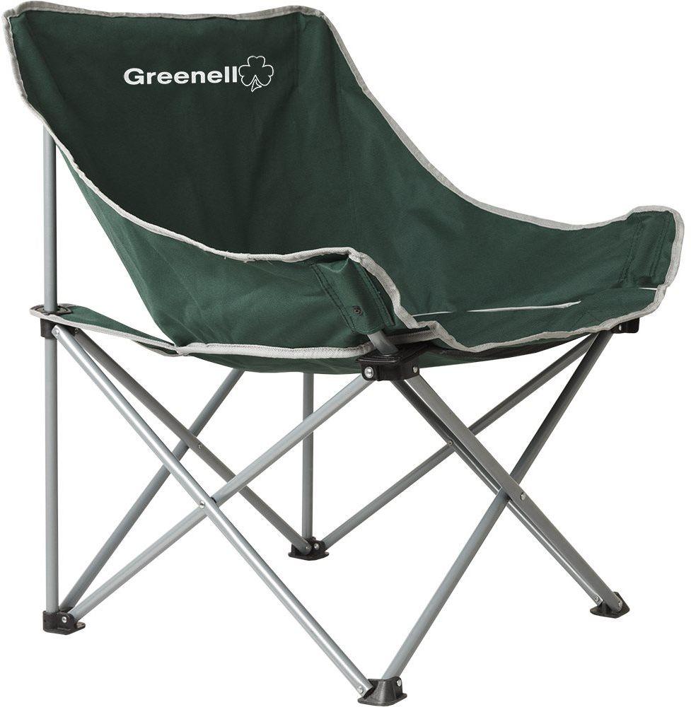 Кресло складное Greenell Луна FC-21, цвет: зеленый, 120 кг95986-325-00Складное кресло Greenell очень удобно для отдыха на природе, рыбалке, в походе.Оно компактно складывается в чехол и занимает мало места.Стальной каркас кресла рассчитан на нагрузку до 120 кг.
