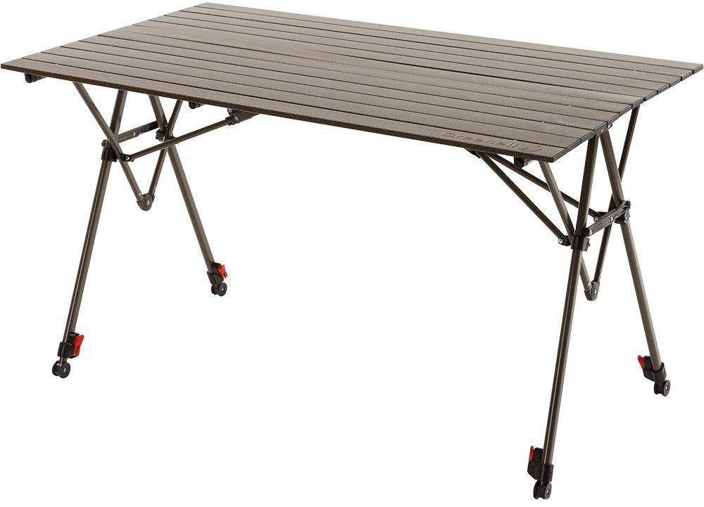 Стол складной Greenell  Элит FT-17 , цвет: коричневый, 120 х 70 х 65 (85) см - Складная и надувная мебель