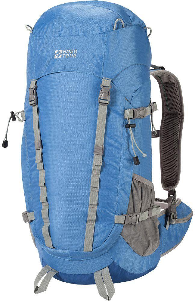 Рюкзак туристический Nova Tour Грифон, 50 л, цвет: голубой набор столовых приборов туристический nova tour s088