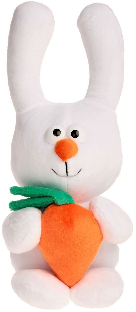 Zakazat.ru: Princess Love Мягкая игрушка Зайка с морковкой цвет белый 38 см 2057687