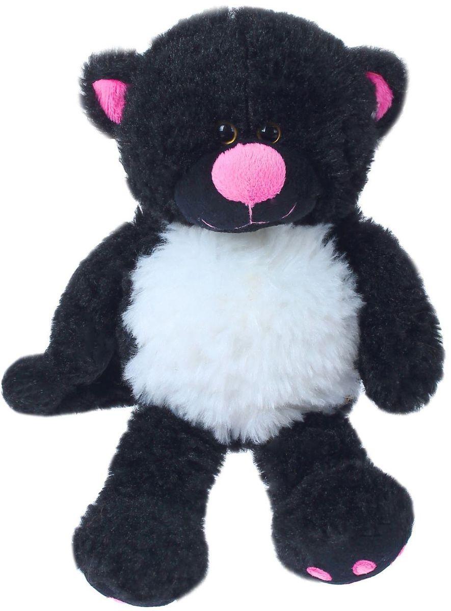 MaxiToys Мягкая игрушка Кот Уголек 20 см 2103995 maxitoys кот уголек 20 см