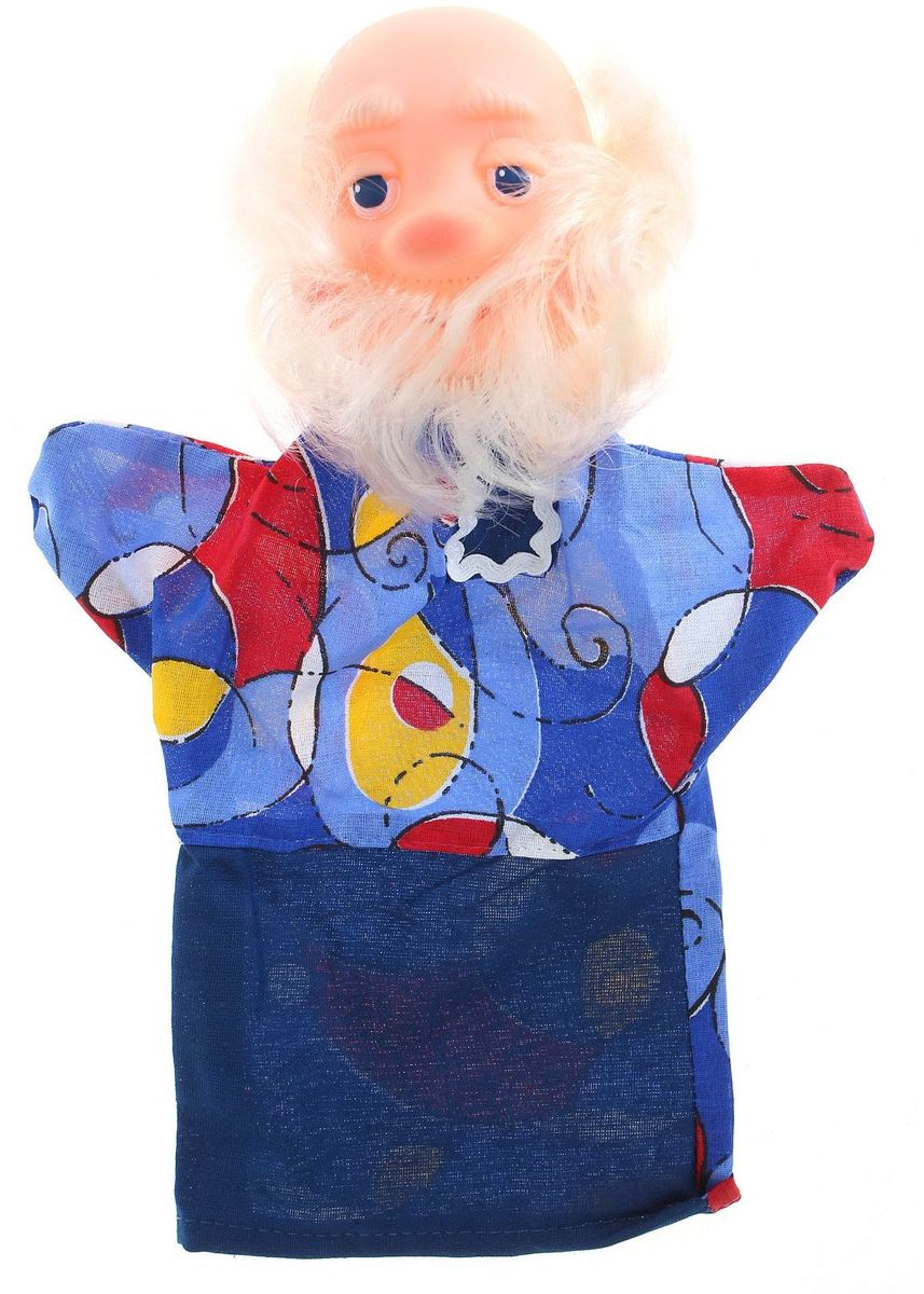 Огонек Кукла-перчатка Дед, Сима-ленд