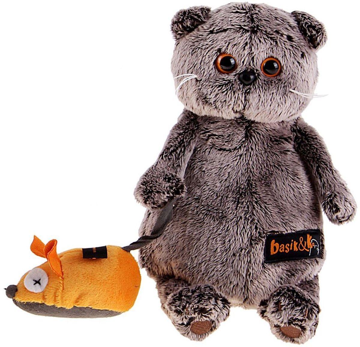 Басик и Ко Мягкая игрушка Басик и мышка 22 см 747264 пальто басик