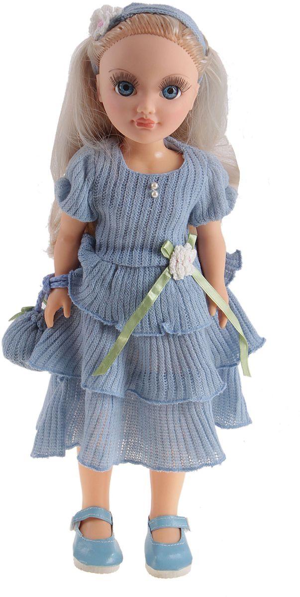 Sima-land Кукла озвученная Анастасия голубой ажур 42 см 751228 свеча ароматизированная sima land лимон на подставке высота 6 см