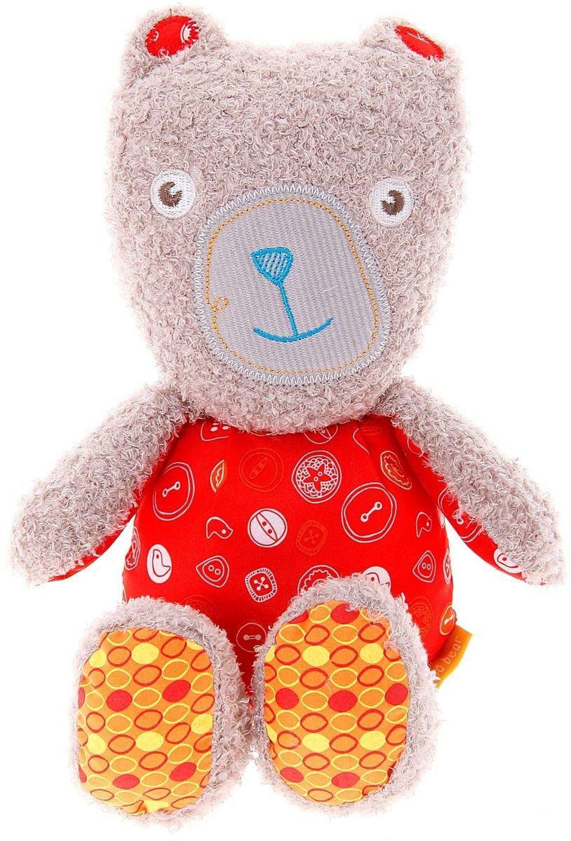 одеяла little me одеяло бежевые рюши Little Bird Told Me Мягкая игрушка Мама Медведь 844625