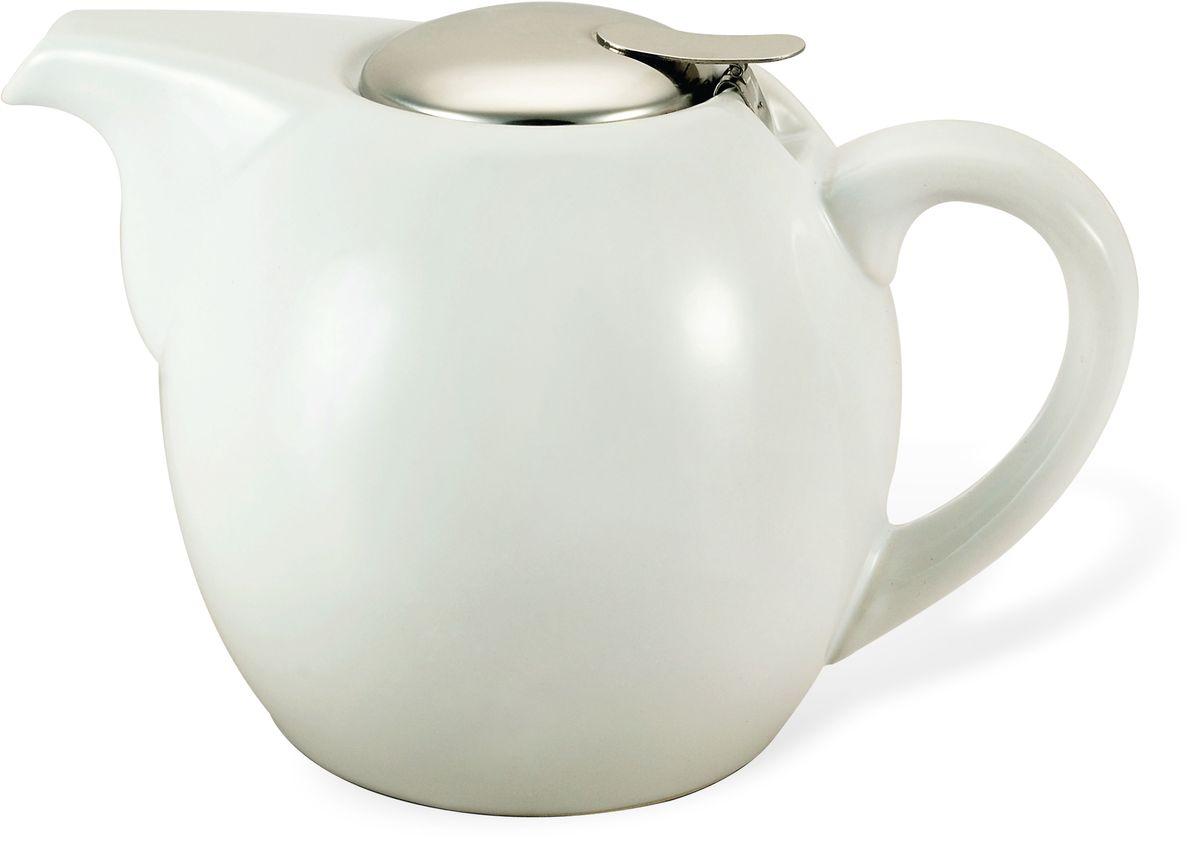 Заварочный чайник Fissman, с ситечком, цвет: белый, 1,3 л. 9201VT-1520(SR)Заварочный чайник Fissman изготовлен из высококачественной керамики, покрытой эмалью в несколько слоев. Такой чайник гигиеничен и устойчив к износу при длительном использовании.Чайник оснащен ситечком из нержавеющей стали с крышкой, которое не позволит чаинкампопасть в чашку, при этом сохранит букет и насыщенность чая. Объем: 1,3 л.
