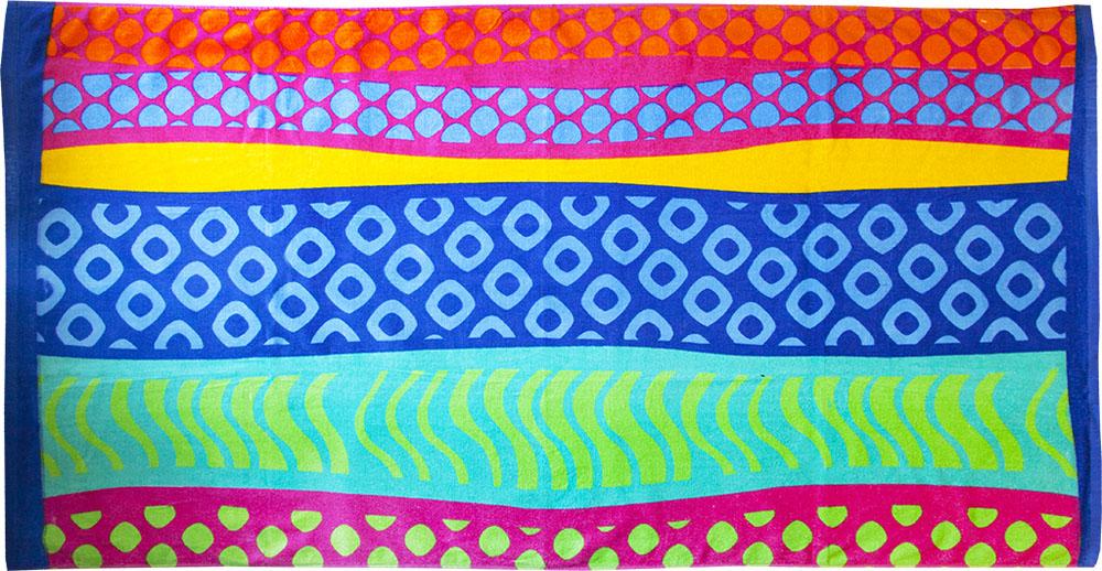 Полотенце пляжное Bonita, махровое, цвет: мультиколор, 75 x 150 смES-412Пляжное полотенце Bonita выполнено из махровой ткани. Изделие отлично впитывает влагу, быстро сохнет, сохраняет яркость цвета и нетеряет форму даже после многократных стирок.