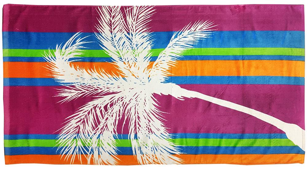 Полотенце пляжное Bonita, цвет: бордовый, 75 x 150 см1010216677Пляжное полотенце Bonita выполнено из 100% хлопка. Изделие отлично впитывает влагу, быстро сохнет, сохраняет яркость цвета и не теряет форму даже после многократных стирок. Такое полотенце очень практично и неприхотливо в уходе. Оно создаст прекрасное настроение и отлично подойдет для использования дома и на пляже.
