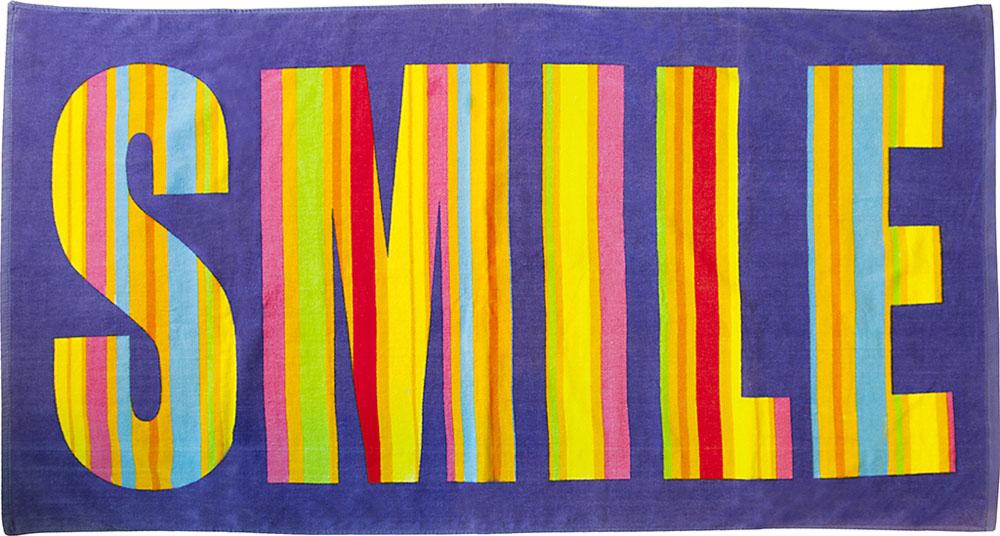 Полотенце пляжное Bonita, цвет: фиолетовый, мультицвет, 75 x 150 смBH-UN0502( R)Пляжное полотенце Bonita выполнено из 100% хлопка. Изделие отлично впитывает влагу, быстро сохнет, сохраняет яркость цвета и не теряет форму даже после многократных стирок. Такое полотенце очень практично и неприхотливо в уходе. Оно создаст прекрасное настроение и отлично подойдет для использования дома и на пляже.