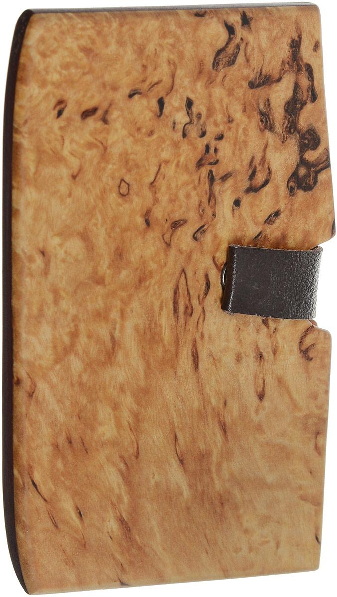 Визитница, береза, 10 х 6 см. Ручная работа. Автор Дмитрий ШульцB16-11416Визитница ручной работы изготовлена из натурального дерева. Изделие выполнено из двух дощечек с отверстием для карточек и визиток. Изделие дополнено хлястиком с магнитом. Такой оригинальный аксессуар - это блестящее завершение вашего неповторимого, смелого образа и отличный подарок любителю стильных вещиц! Ручная работа. Автор Дмитрий Шульц.Просим обратить ваше внимание на то, что работа, выполненная на заказ, может незначительно отличаться от представленной на фото, так как это авторская работа.