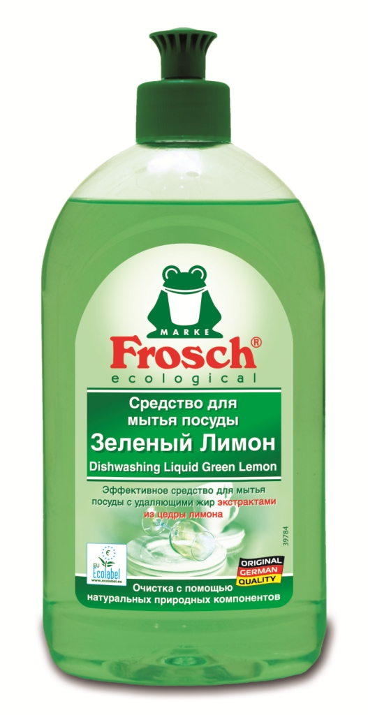 Средство для мытья посуды Frosch Лимон, 500 млES-414Средство для мытья посуды Frosch Лимон естественным способом с помощью высокоэффективных жирорастворяющих экстрактов из цедры лимона удаляет жир и грязь и оставляет при этом приятный свежий аромат лимона.Очистка с помощью натуральных природных компонентов!Торговая марка Frosch специализируется на выпуске экологически чистой бытовой химии. Для изготовления своей продукции Frosch использует натуральные природные компоненты. Ассортимент содержит все необходимое для бережного ухода за домом и вещами. Продукция торговой марки Frosch эффективно удаляет загрязнения, оберегает кожу рук и безопасна для окружающей среды. Характеристики: Объем: 500 мл. Производитель: Германия. Артикул: 46811.Уважаемые клиенты! Обращаем ваше внимание на возможные изменения в дизайне упаковки. Качественные характеристики товара остаются неизменными. Поставка осуществляется в зависимости от наличия на складе.