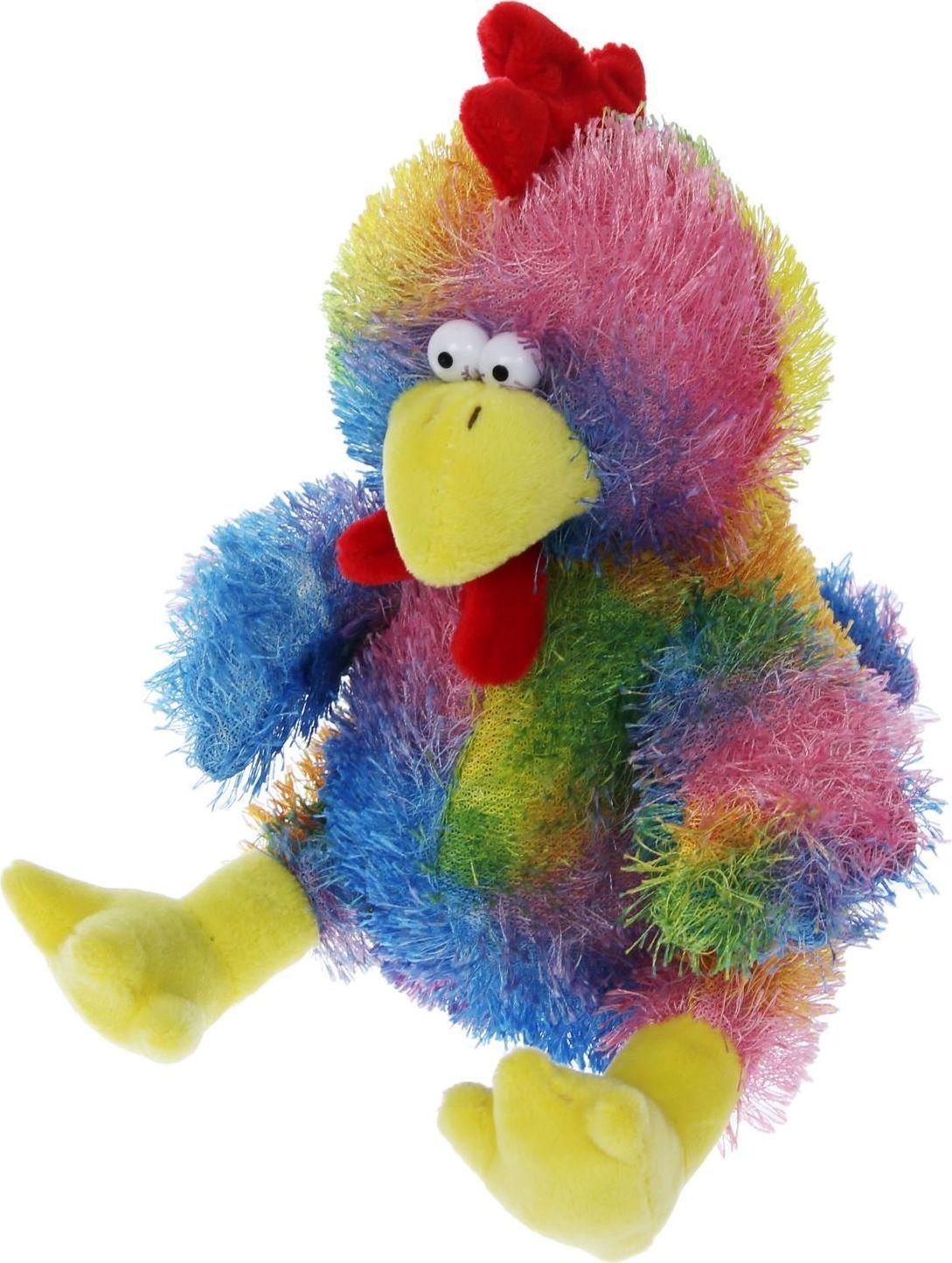 Sima-land Мягкая игрушка Петушок 1294430 sima land мягкая игрушка глазастый петушок в шарфе и с бантиком