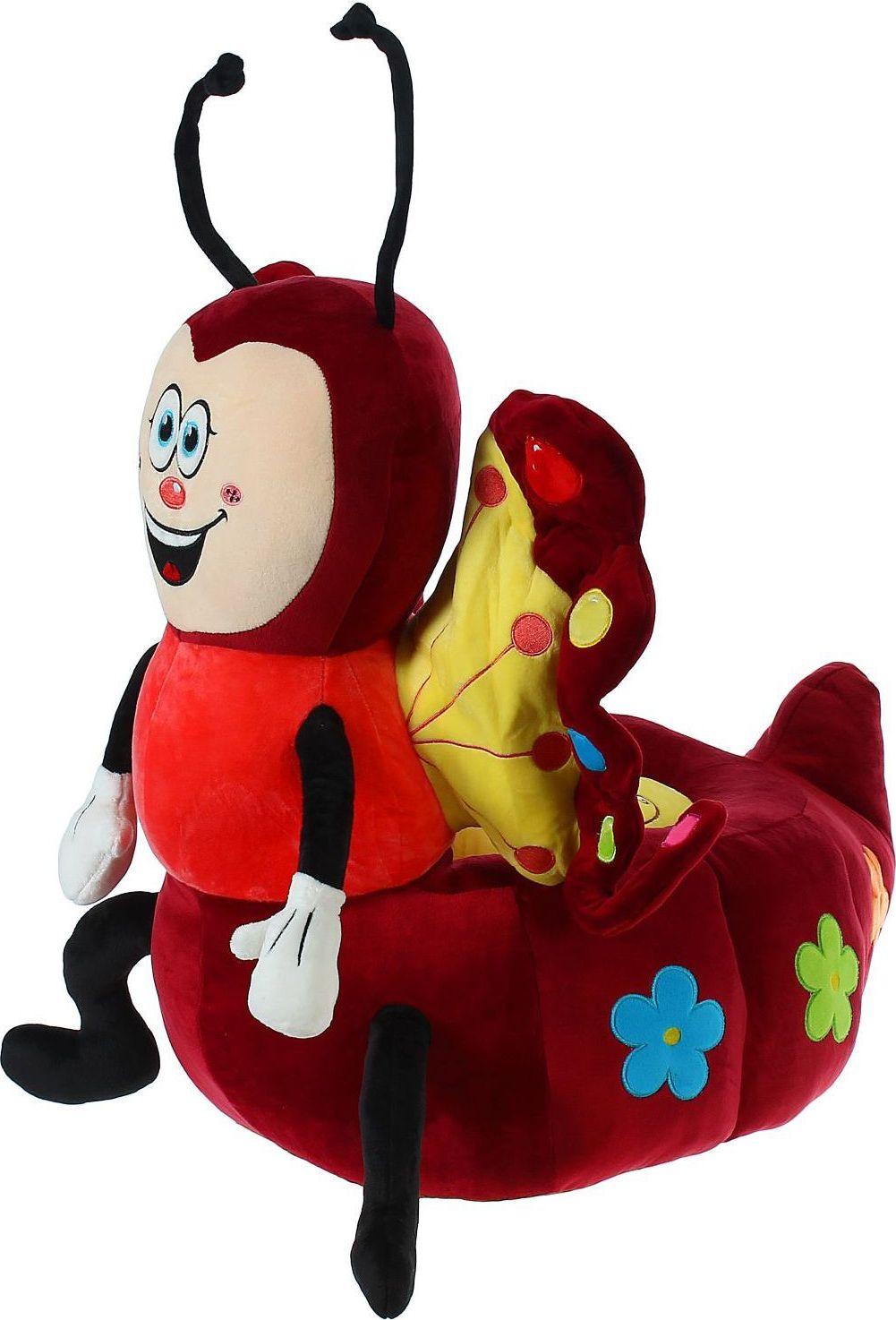 Sima-land Мягкая игрушка-кресло Божья коровка цвет красный sima land мягкая игрушка глазастый петушок в шарфе и с бантиком
