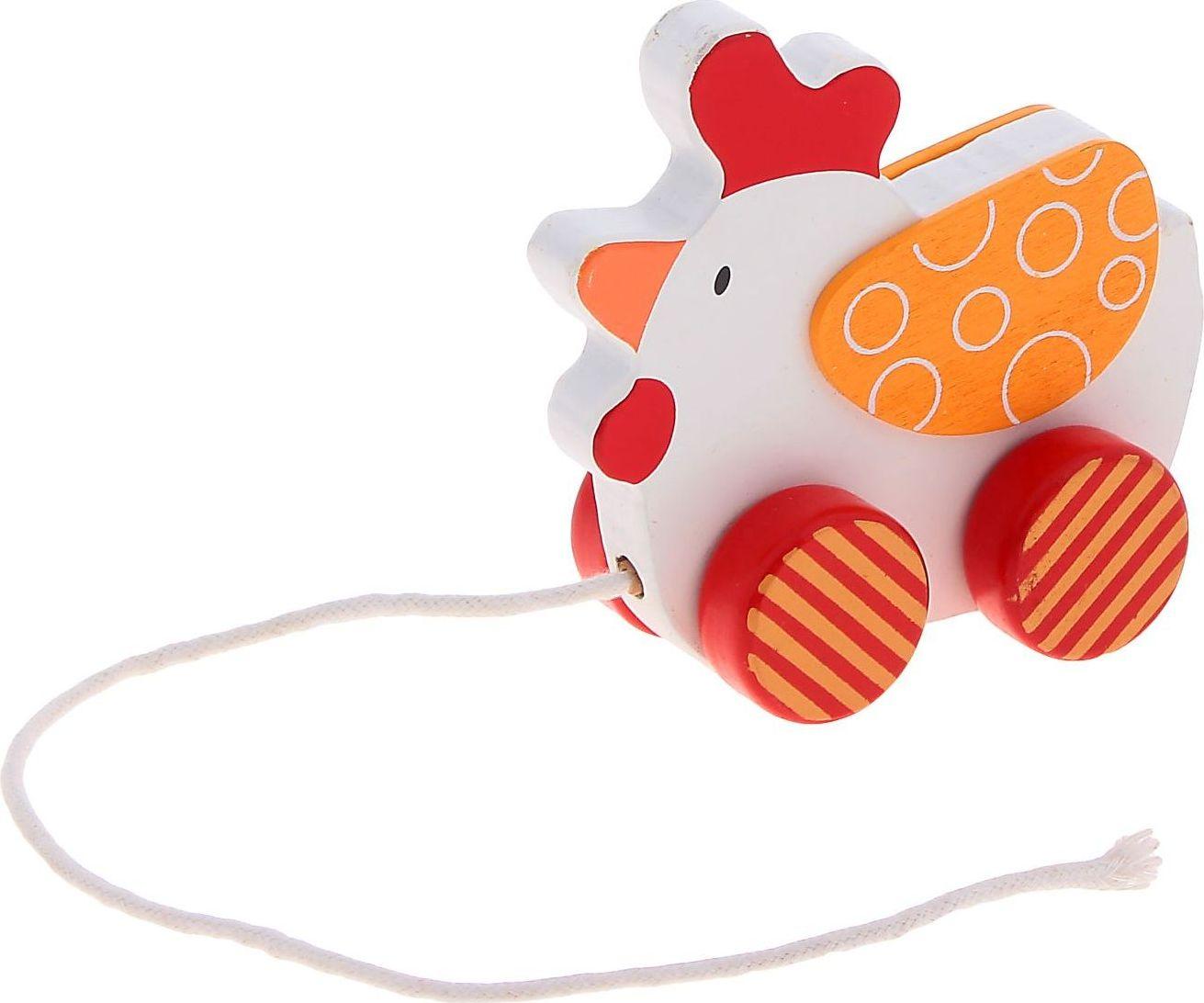 Sima-land Игрушка-каталка Петушок sima land мягкая игрушка глазастый петушок в шарфе и с бантиком
