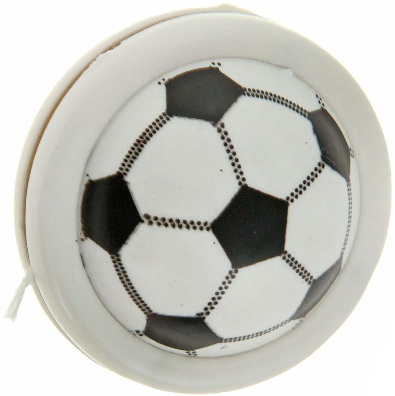 Sima-land Йо-йо Футбол цвет белый черный