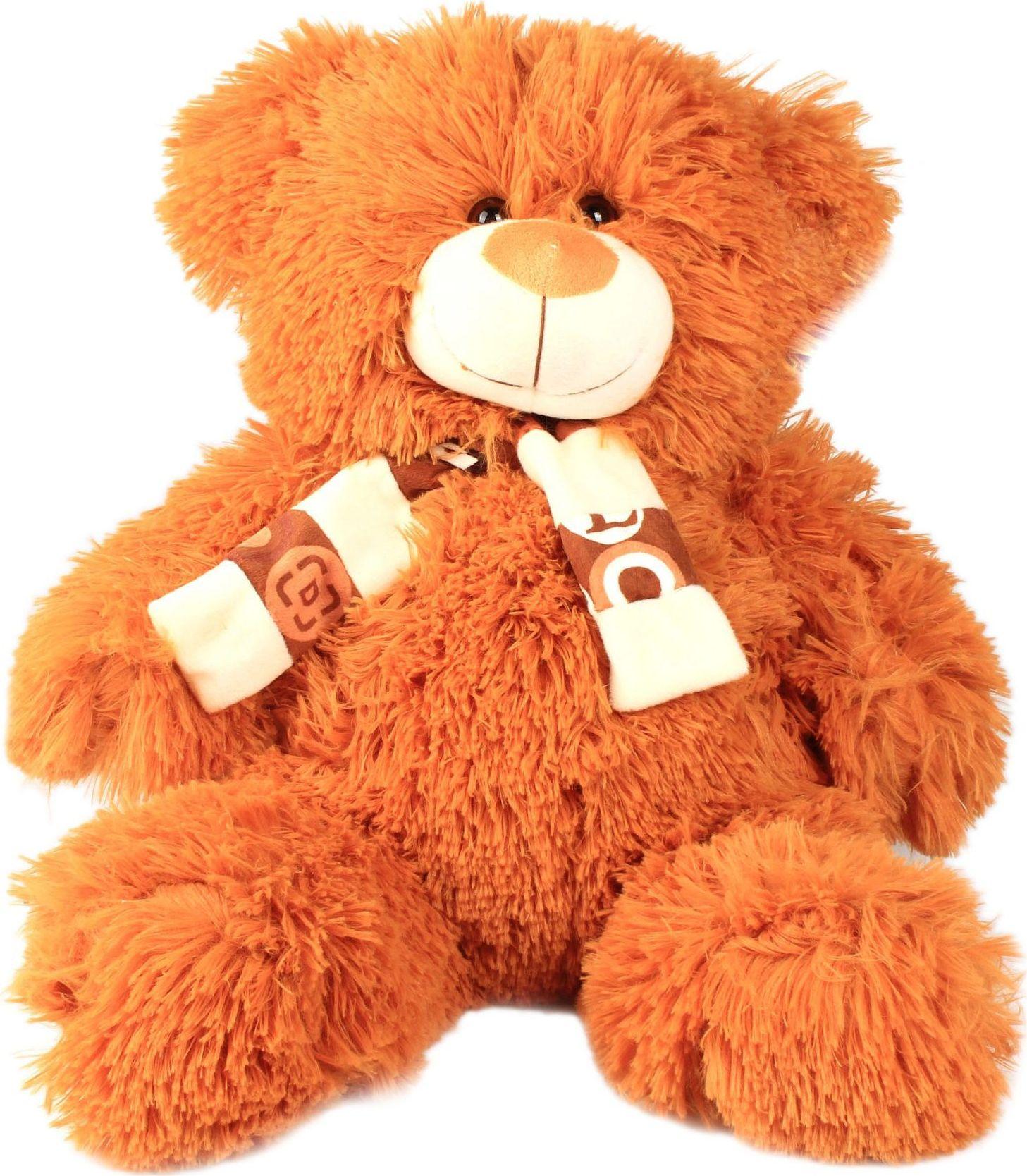 Sima-land Мягкая игрушка Мишка в шарфе лохматый sima land мягкая игрушка глазастый петушок в шарфе и с бантиком