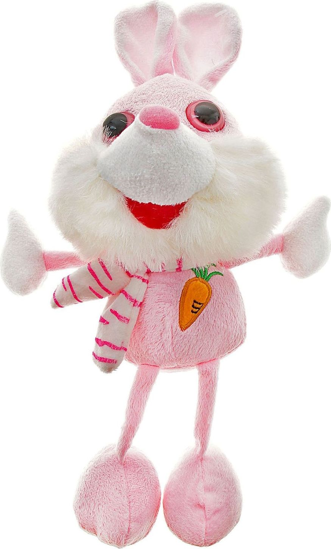 Sima-land Мягкая игрушка Заяц с вышивкой на груди sima land мягкая игрушка ушастый зайка 17 см