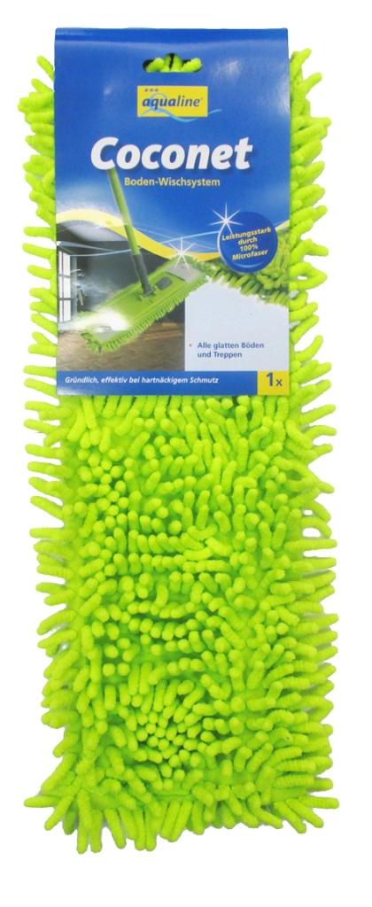 Насадка сменная Aqualine Coconet для плоской швабры531-105Сменная насадка Aqualine Coconet подходит ко всем плоским швабрам с размером держателя 42 см. Она изготовлена из синельного микроволокна, которое впитывает в себя воду и грязь подобно губке. Высокая очищающая сила синельного микроволокна позволяет быстро и эффективно ухаживать за полами, используя при этом меньшее количество чистящих средств. Насадка прекрасно моет все виды гладких полов из плитки, паркета, ламината и камня. Насадку можно стирать при температуре 60°С. Характеристики:Материал:синельное микроволокно. Размер насадки:40 см х 14 см. Рекомендуемая длина держателя:42 см. Производитель: Германия. Артикул:9347.Уважаемые клиенты! Обращаем ваше внимание на возможные изменения в дизайне упаковки. Качественные характеристики товара остаются неизменными. Поставка осуществляется в зависимости от наличия на складе.
