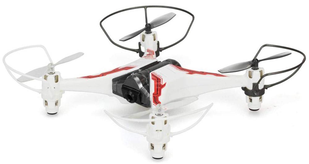 Silverlit Квадрокоптер на радиоуправлении Spy Drone II цвет белый красный