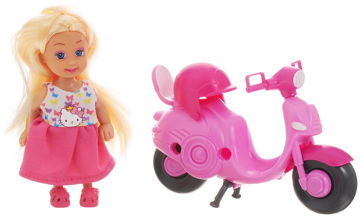 Карапуз Игровой набор с куклой Машенька на скутере