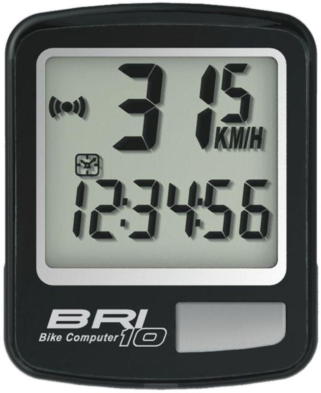 Велокомпьютер Echowell BRI-10, 10 функций, цвет: черныйMCI54145_WhiteПроводной велокомпьютер Echowell BRI-10 с десятью функциями в стильном корпусе предназначен для использования при занятиях велоспортом, велотуризмом и просто катании на велосипеде. Это удобный и простой в использовании электронный прибор, предоставляющий велосипедисту всю необходимую информацию о поездке. Имеет отличную водо и пылезащиту.Велокомпьютер состоит из двух частей соединенных проводом - дисплея, внешне похожего на электронные часы и датчика скорости. Дисплей крепится на руле с возможностью мгновенно отсоединить его, когда нет желания оставлять на велосипеде без присмотра или под дождем. Магнитный датчик скорости (геркон) крепится рядом с колесом.Велокомпьютер определяет скорость движения с точностью до десятых долей, дистанцию - с точностью до 10 метров. На дисплее функции поочередно сменяют друг друга. Все операции и настройки выполняются одной кнопкой.Функции: - Скорость текущая- Скорость средняя- Скорость максимальная- Дистанция поездки- Одометр- Время поездки- Время в пути общее за все поездки- Часы- Изменение скорости по отношению к средней общей- Скан (функция скан задействует режим показа всех функций на дисплее компьютера поочередно)Водо и пылезащита Питание: от литиевой батарейки типа CR2032 (входит в комплект)