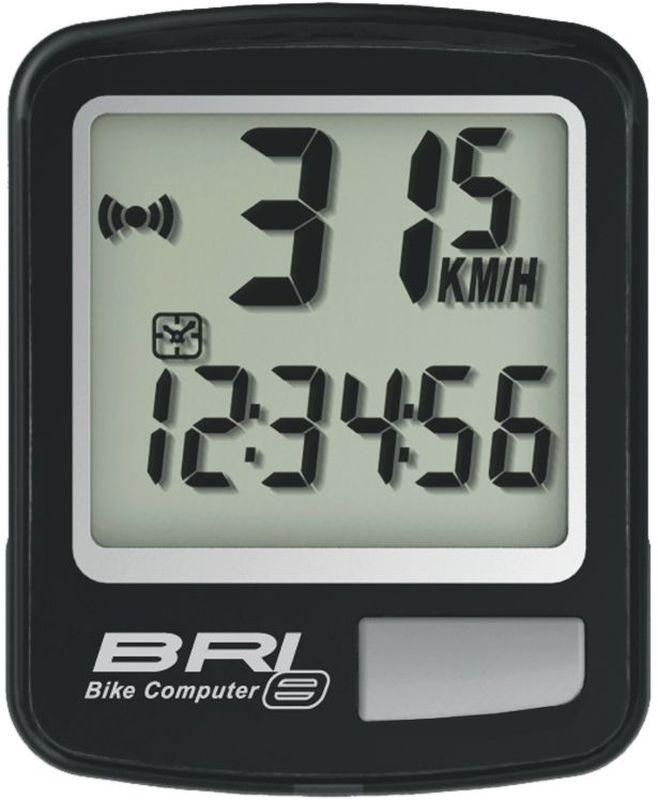 Велокомпьютер Echowell BRI-8, 8 функций, цвет: черныйBRI-8Проводной велокомпьютер Echowell BRI-8 с восемью функциями в стильном корпусе предназначен для использования при занятиях велоспортом, велотуризмом и просто катании на велосипеде. Это удобный и простой в использовании электронный прибор, предоставляющий велосипедисту всю необходимую информацию о поездке. Имеет отличную водо и пылезащиту.Велокомпьютер состоит из двух частей соединенных проводом - дисплея, внешне похожего на электронные часы и датчика скорости. Дисплей крепится на руле с возможностью мгновенно отсоединить его, когда нет желания оставлять на велосипеде без присмотра или под дождем. Магнитный датчик скорости (геркон) крепится рядом с колесом.Велокомпьютер определяет скорость движения с точностью до десятых долей, дистанцию - с точностью до 10 метров. На дисплее функции поочередно сменяют друг друга. Все операции и настройки выполняются одной кнопкой.Функции: - Скорость текущая- Скорость средняя- Скорость максимальная- Дистанция поездки- Одометр- Время поездки- Часы- Скан (функция скан задействует режим показа всех функций на дисплее компьютера поочередно)Водо и пылезащита Питание: от литиевой батарейки типа CR2032 (входит в комплект)