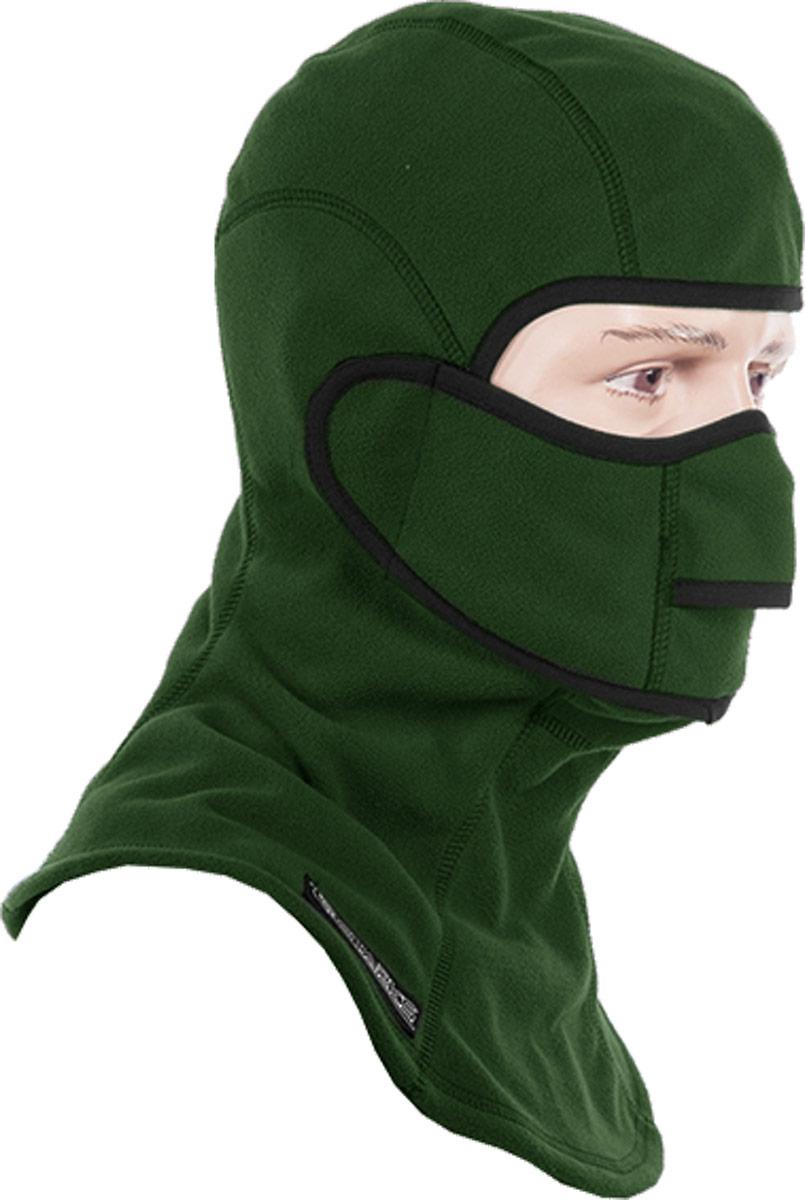 Подшлемник Starks Fleece Collar Open, с защитой шеи, цвет: зеленый. Размер L/XLMP0003/4Подшлемник Starks Fleece Collar Open предназначен для использования в условиях экстремального холода. Съемная лицевая часть позволяет легко открывать лицо. Подшлемник выполнен из высококачественного полиэстера. Изделие обеспечивает полную защиту лица и шеи от проницания влаги, холода, пыли. Снаружи и внутри флисовый ворс, который обеспечивает терморегуляцию, сохранение тепла, отведение влаги от лица к мембране и последующее выведение наружу. Защитная дышащая мембрана работает в обе стороны - изнутри сохраняет тепло, выводит влагу.