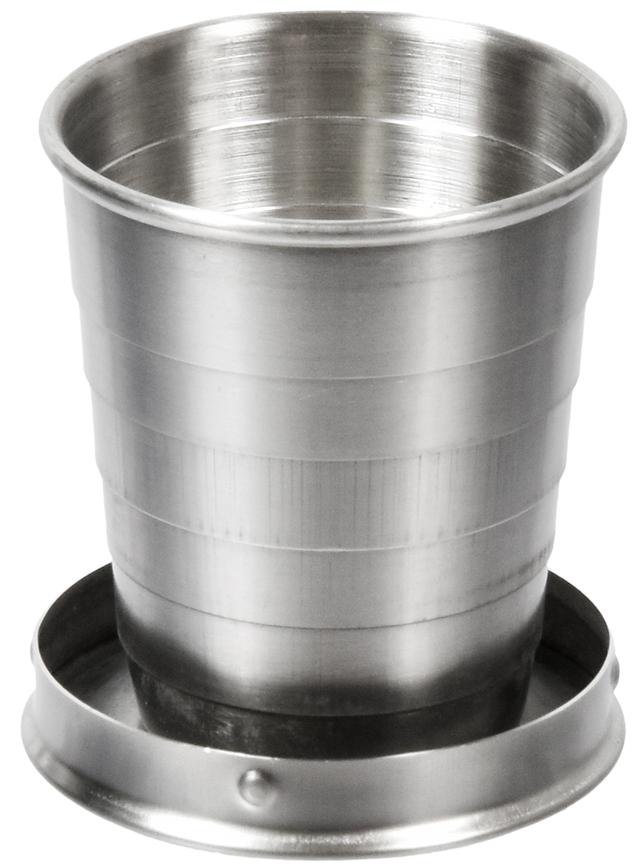 Стакан Boyscout, складной, в чехле, 60 млKOC-H19-LEDСкладной стакан Boyscout незаменим в походе, в дороге, на даче и пикнике. С помощью карабина пристегивается к ремню или рюкзаку.Условия хранения: хранить в сухом месте.