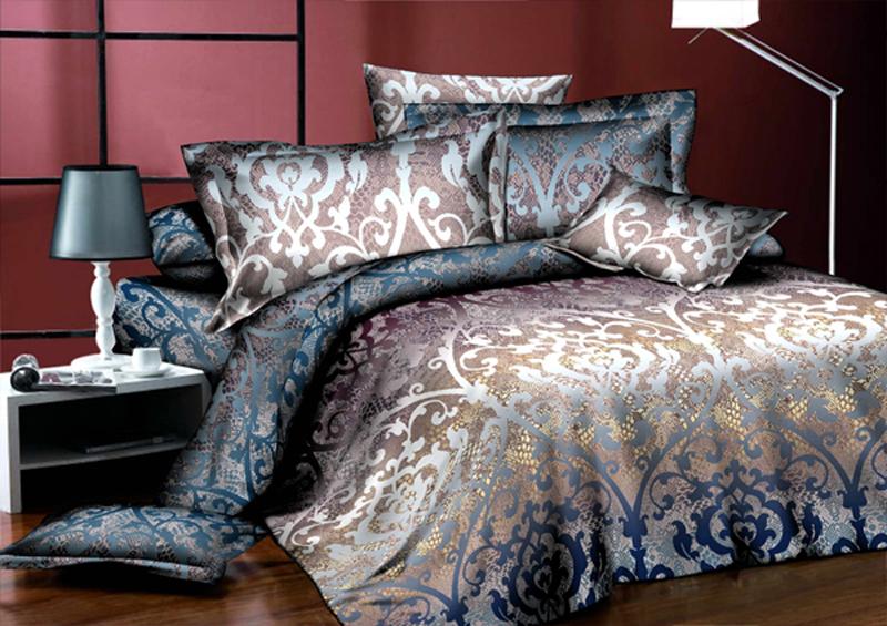 Комплект белья ЭГО Империя, 1,5-спальный, наволочки 70x70391602Комплект белья ЭГО выполнен из полисатина (50% хлопка, 50% полиэстера). Комплект состоит из пододеяльника, простыни и двух наволочек. Постельное белье имеет изысканный внешний вид и яркую цветовую гамму. Гладкая структура делает ткань приятной на ощупь, мягкой и нежной, при этом она прочная и хорошо сохраняет форму. Ткань легко гладится, не линяет и не садится. Приобретая комплект постельного белья ЭГО, вы можете быть уверенны в том, что покупка доставит вам и вашим близким удовольствие и подарит максимальный комфорт.