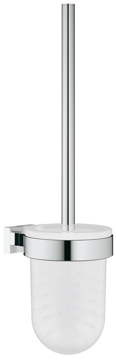 Туалетный ершик Grohe Essentials Cube в комплекте. 4051300140513001настенный монтажGROHE StarLight хромированная поверхность