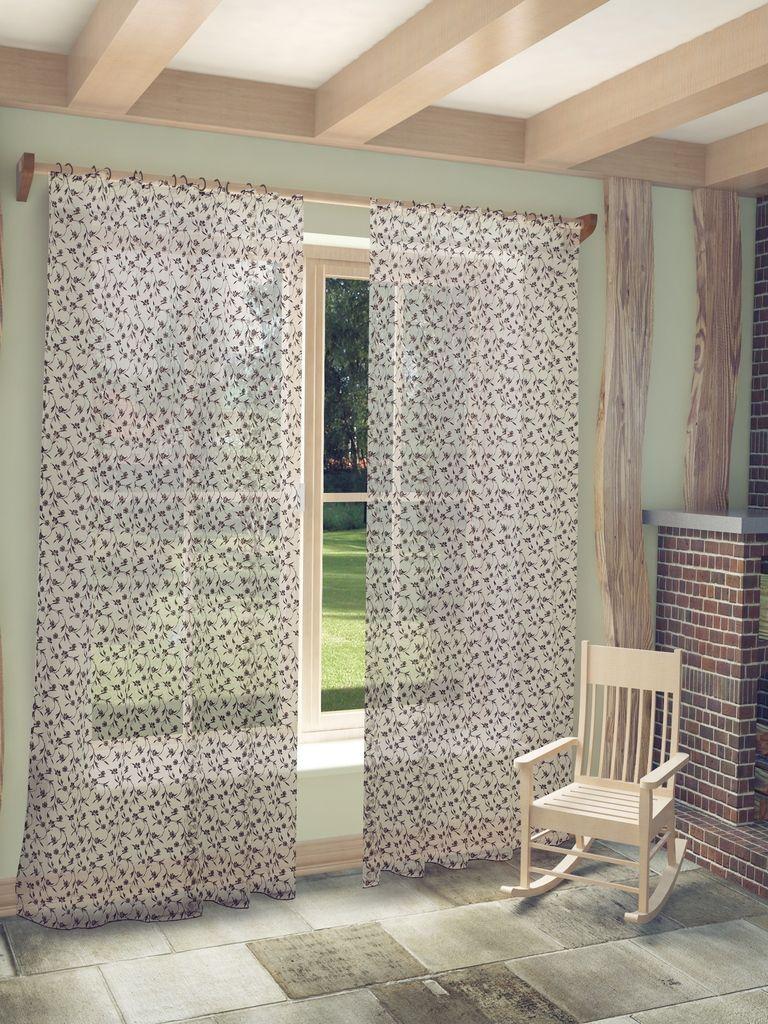 Тюль Sanpa Home Collection Ненси, на ленте, цвет: коричневый, высота 280 смS03301004Тюль Ненси нежного цвета изготовлена из ткани деворе. Воздушная ткань привлечет к себе внимание и идеально оформит интерьер любого помещения. Деворе - это сложнейшая техника химического травления, при котором ткань приобретает великолепный, поистине волшебный вид. Изысканный атласный или бархатный рисунок буквально парит на матовом или прозрачном фоне, и материал становится лёгким, живым и объёмным.Крепление к карнизу осуществляется при помощи вшитой шторной ленты.