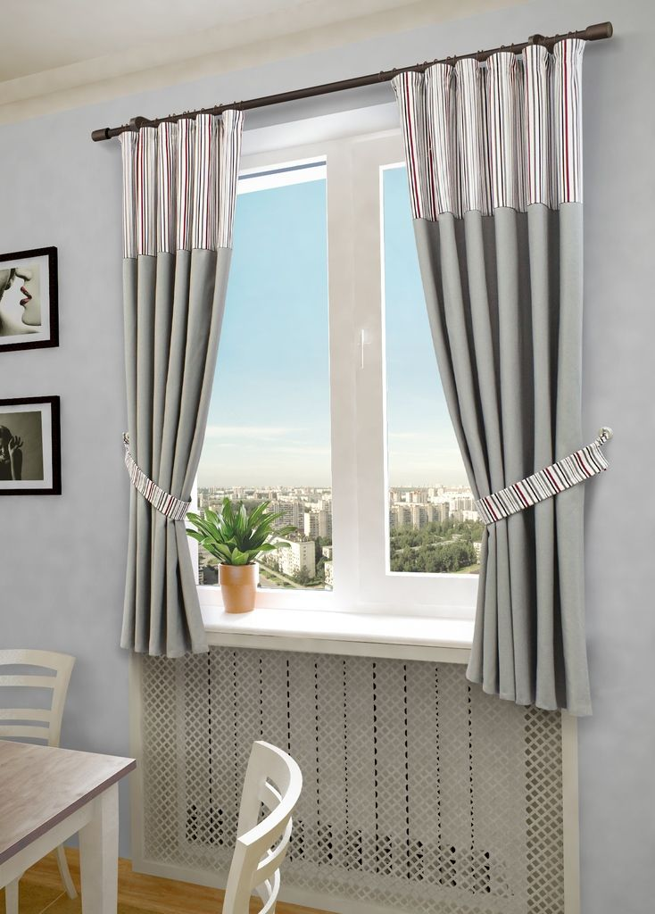 Комплект штор Sanpa Home Collection Бертина, на ленте, цвет: серый, высота 180 см. 20470P308-8816/1Комплект штор Бертина, выполненный из полиэстера и хлопка, великолепно украсит любое окно. Комплект состоит из двух штор и двух подхватов. Оригинальный рисунок и приятная цветовая гамма привлекут к себе внимание и органично впишутся в интерьер помещения. Этот комплект будет долгое время радовать вас и вашу семью!В комплект входит: Штора: 2 шт. Размер (Ш х В): 180 см х 145 см.Подхват: 2 шт.
