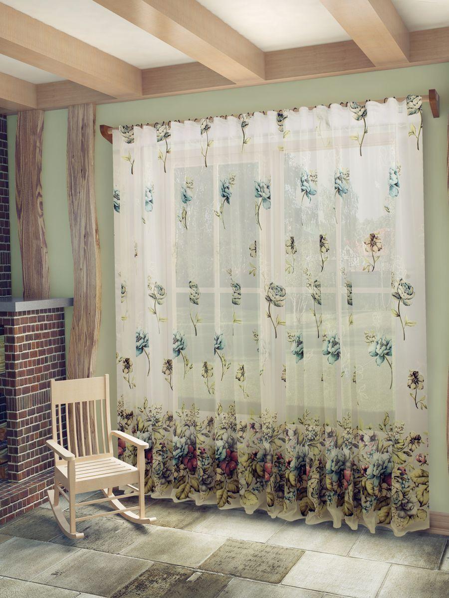 Тюль Sanpa Home Collection Кэтрин, на ленте, цвет: бирюзовый, высота 260 см74780Тюль Кэтрин нежного цвета изготовлена в технике деворе. Воздушная ткань привлечет к себе внимание и идеально оформит интерьер любого помещения. Деворе - это сложнейшая техника химического травления, при котором ткань приобретает великолепный, поистине волшебный вид. Изысканный атласный или бархатный рисунок буквально парит на матовом или прозрачном фоне, и материал становится лёгким, живым и объёмным.Крепление к карнизу осуществляется при помощи вшитой шторной ленты.