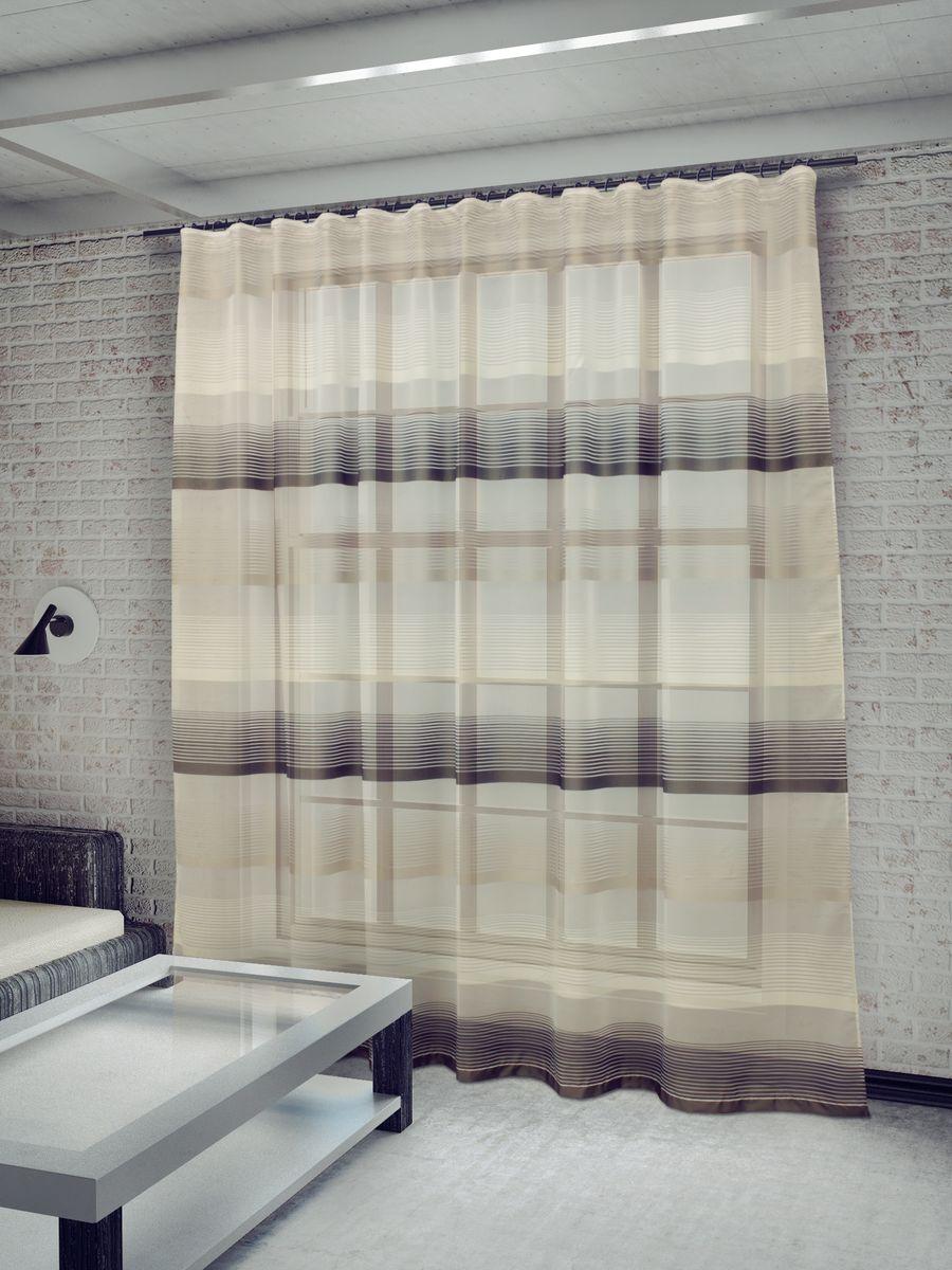 Тюль Sanpa Home Collection Лучиана, на ленте, цвет: серый, высота 255 смDW90Тюль Лучиана нежного цвета изготовлена из высококачественных материалов. Воздушная ткань привлечет к себе внимание и идеально оформит интерьер любого помещения. Тюль сделает ваш интерьер более нежным, воздушным и невесомым. Можно драпировать окно только тюлью или только портьерами, но вместе они создают идеальную композицию. Мы рекомендуем под однотонные портьеры нейтральных тонов подбирать сложносочиненную тюль, с изысканной вышивкой и орнаментом, а под портьеры с рисунком или ярких тонов - выбирать тюль с минималистичным рисунком или вообще без него.Крепление к карнизу осуществляется при помощи вшитой шторной ленты.