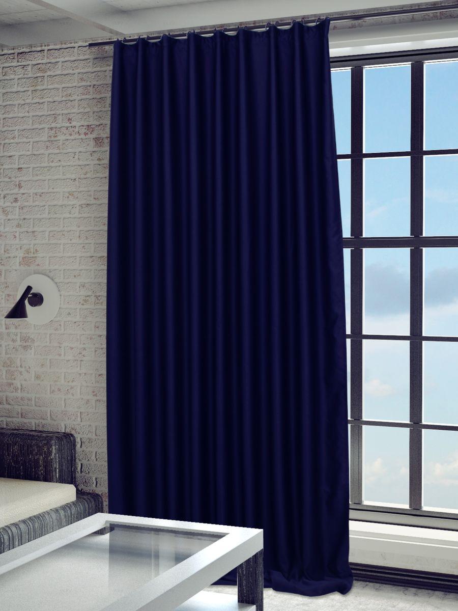 Штора Sanpa Home Collection Твила, на ленте, цвет: темно-синий, высота 280 смHP blackout/22/1E Твила темно-синий, , 200*280 смШтора Sanpa Home Collection Твила станет достойным выбором тех, кто стремится к простоте и изяществу. Благодаря своему лаконичному дизайну, изделие гармонично впишется в любой интерьер. Представленная модель выполнена из плотного синтетического светонепроницаемого материала (блэкаут), который обеспечивает отличную тепло- и звукоизоляцию. Портьеру по достоинству оценят те, кто мечтает об уютной спальне или изысканном рабочем кабинете. При этом ткань не выгорает и устойчива к износу. Кроме того, она легко драпируется и хорошо держит форму. Изделие не только защитит дом от жаркого солнца, но и, несомненно, станет изысканной и стильной деталью любого помещения.