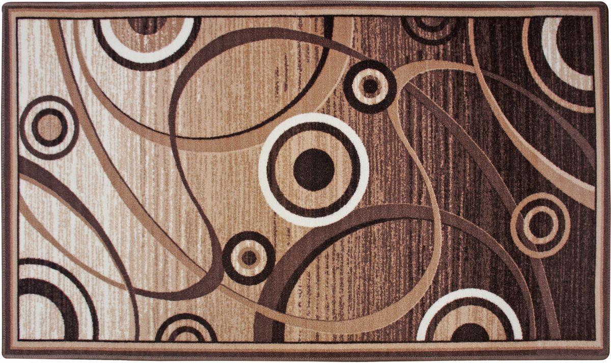 Коврик интерьерный Белка Лайла де Люкс, цвет: бежевый, 100 х 200 см. 15105_1012216051Ковер серии Лайла де Люкс, изготовлен из синтетического материала полипропилена, высота ворса 7-8 мм , плотность ворса 153.600 точек/м2, высота основа ковра - джут.