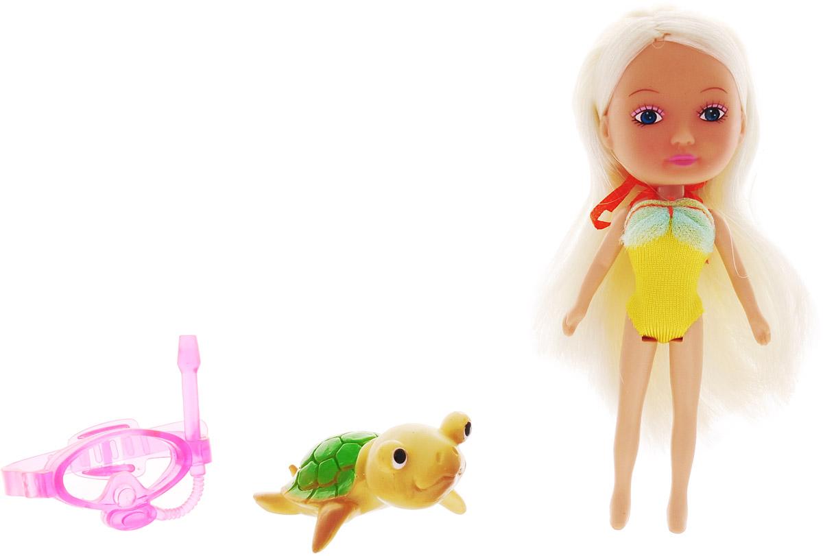 Veld-Co Мини-кукла Mona с черепахой veld co мини кукла mona с черепахой