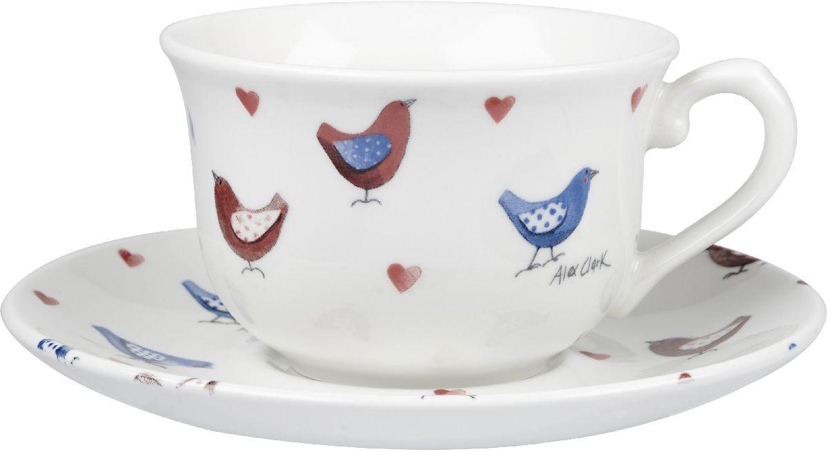 Чайная пара Churchill, 2 предмета. ACLB0005154 009312Коллекция Птички - уникальное сочетание живой природы и прекрасные воспоминания из детства. Легкий и простой дизайн с пастельными красками идеально подойдет для любой кухни.