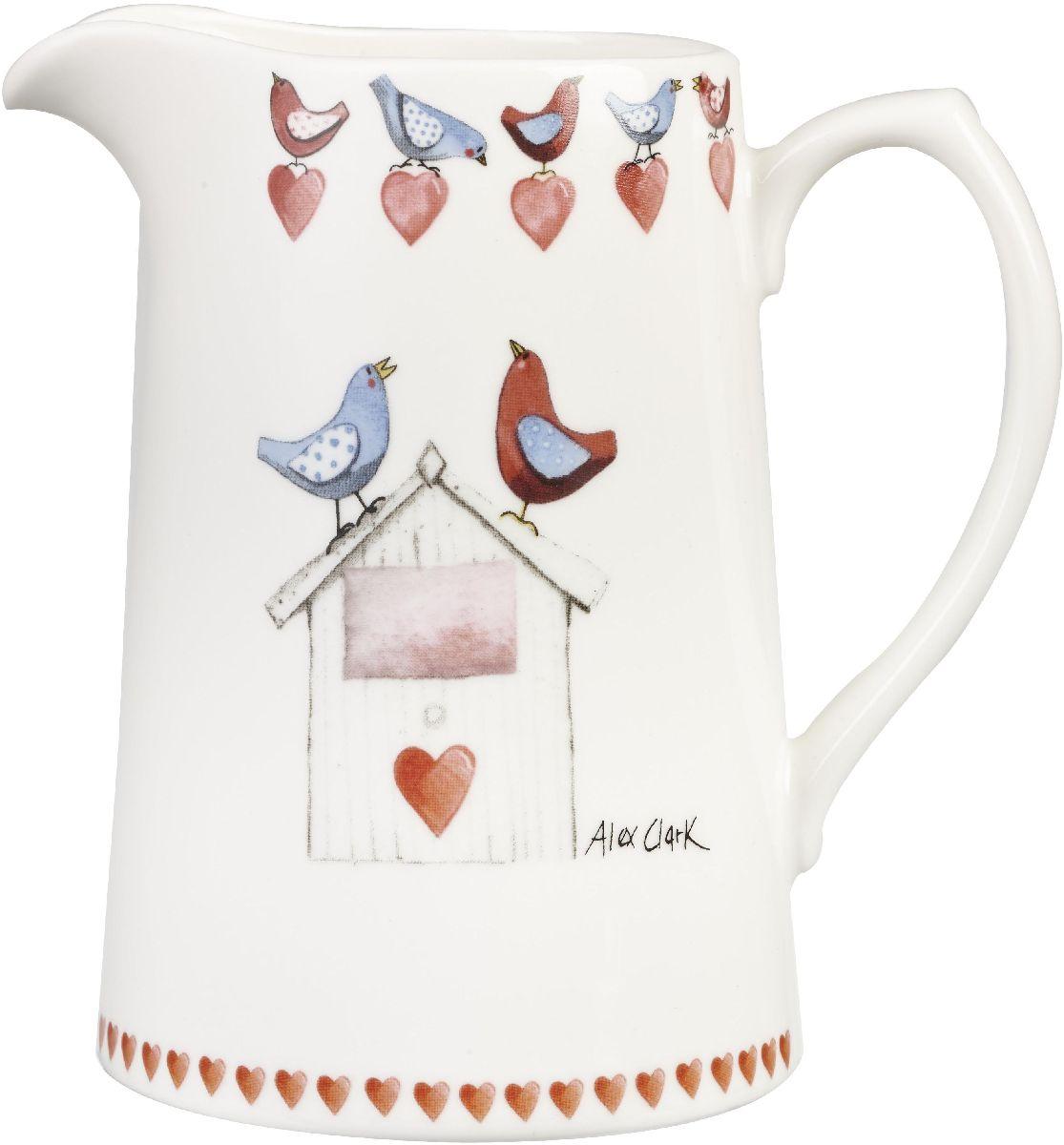 Кувшин Churchill, 750 млVT-1520(SR)Коллекция Птички - уникальное сочетание живой природы и прекрасные воспоминания из детства. Легкий и простой дизайн с пастельными красками идеально подойдет для любой кухни.
