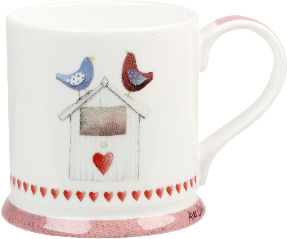 Кружка Churchill, 255 мл. ACMY0010154 009312Коллекция Птички - уникальное сочетание живой природы и прекрасные воспоминания из детства. Легкий и простой дизайн с пастельными красками идеально подойдет для любой кухни.