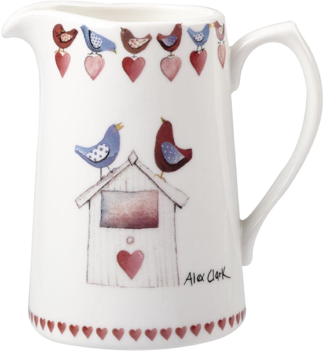 Кувшин Churchill, 250 мл124188Коллекция Птички - уникальное сочетание живой природы и прекрасные воспоминания из детства. Легкий и простой дизайн с пастельными красками идеально подойдет для любой кухни.
