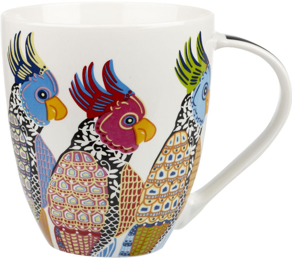 Кружка Churchill Попугаи, 500 мл115510Коллекция Кутюр использует эклектичное сочетание ярких цветов, чтобы создать самые модные узоры на посуде.