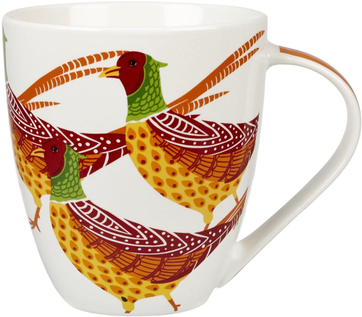 Кружка Churchill Фазаны, 500 мл115510Коллекция Кутюр использует эклектичное сочетание ярких цветов, чтобы создать самые модные узоры на посуде.